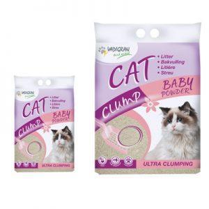 kattenbakvulling baby powder