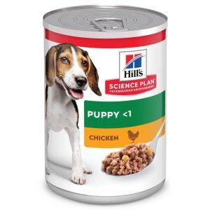 Hill's Puppy Blik chicken