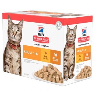 Adult poultry selection multipack