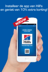 Loyalty app Hill's